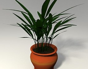 3D Potted Plant