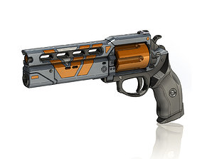 3D print model The Devil You Know Legendary Hand Cannon