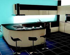 Kitchen 3D model design
