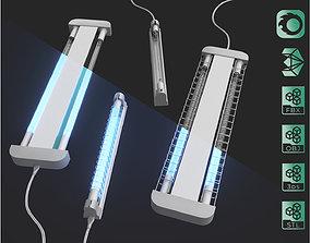 Ultraviolet Sterilization Desinfection 3D model 2