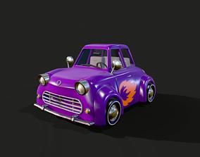 Cartoon Car 3D model realtime PBR