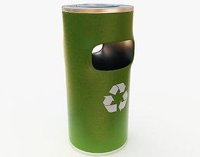 3D model Dustbin recycling-bin