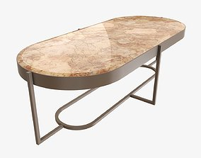 3D model Coffee table oval