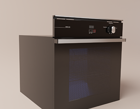 3D model Built-in oven brastemp 78L