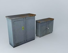 Eco Rail Track Power Box 3D model