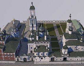 Cyril-Athanasievsky monastery 3D model