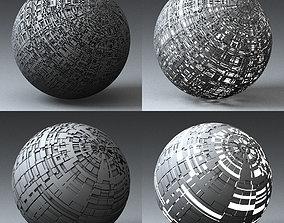 Syfy Displacement Shader G 001 k 3D model