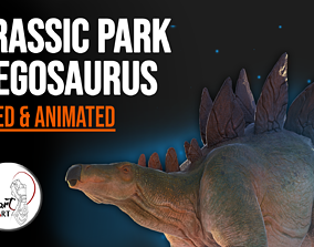3D model Stegosaurus For your Games And Animations