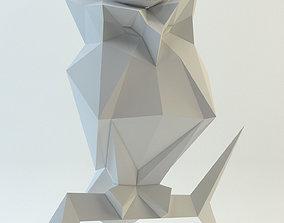 3D model Owl papercraft