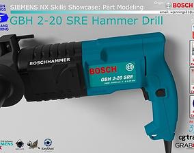 3D Bosch GBH 2-20 SRE Hammer Drill