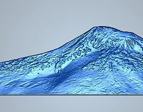 Ararat mountain Masis Sis 3D print model