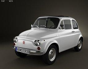 Fiat 500 1970 3D