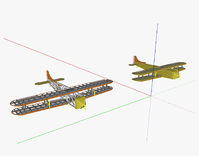AT freight aircraft 3D model