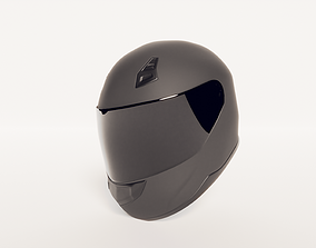 racing 3D motorcycle helmet