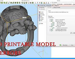 3D print model Skull ring scull