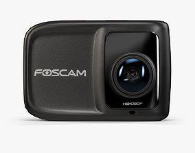 Foscam AC1080 action camera 3D asset