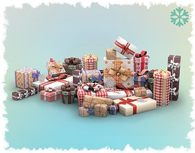 3D asset Gift Boxes
