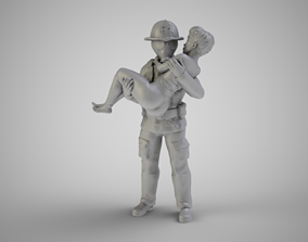 3D print model Fireman 2