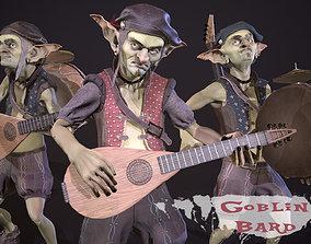 3D model Goblin Bard