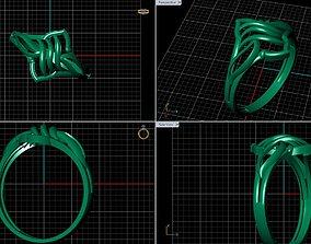 gold Rings 3D print model