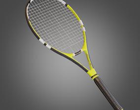 3D model Tennis Racket - Pbr Game Ready