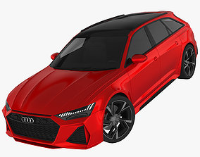 Audi RS6 Avant 2020 3D model cars