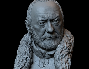 Davos Seaworth from Game of Thrones bust 3D print model