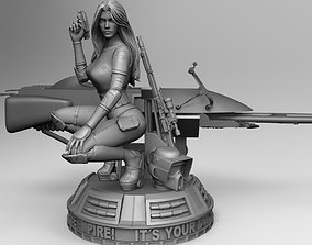 Pin Up Scout Trooper 3D print model