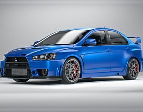 3D Mitsubishi Lancer Evolution X FQ-440 MR