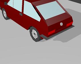 Volkswagen Passat B1 1970 3D model