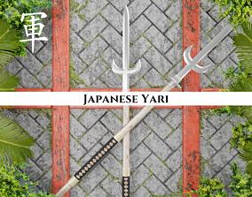3D model Ancient Japanese Yari