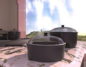 Cooking Set 3D