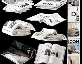 Magazines set 1 3D