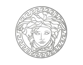 Gianni Versace Logo v1 005 3D model