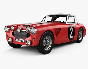 3D Austin Healey 3000 Alpine Rally 1962
