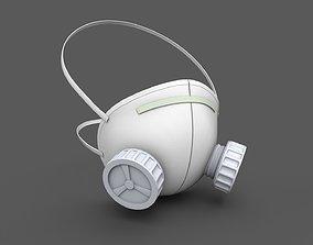 Respirator Mask 2 3D asset