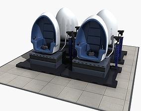 VR Egg Cinema Chair 3D
