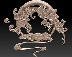 phoenix on clouds 3D printable model