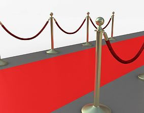 3D model theater Stanchions