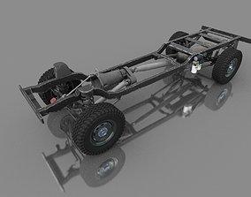 3D model DODGE RAM 4X4 CHASSIS