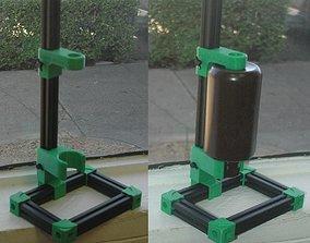 Resin Bottle Drainer Stand 3D print model