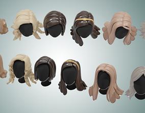 3D model Base Haircuts 11-16