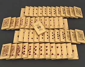 Playing Card Cookies 3D