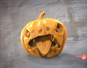 Evil pumpkin 3D printable model