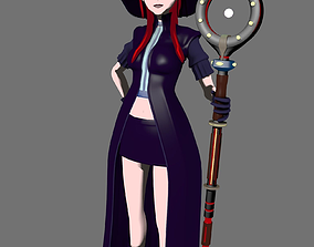 3D model Modern Witch Girl