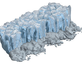 Iceberg - Ice Road Mountain 10 3D