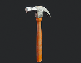 Claw Hammer - Tutorial Included 3D asset
