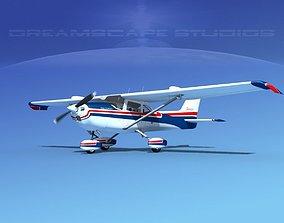Cessna 172 Skyhawk STOL V01 3D