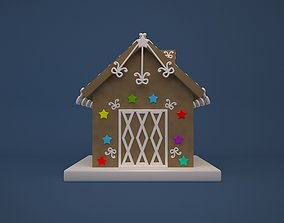 3D print model Gingerbread House