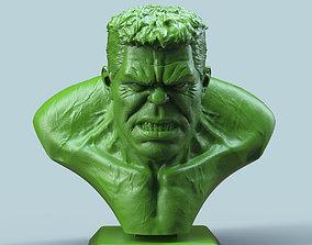 3D printable model Hulk Bust statue